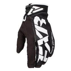 FXR Cold Cross Race Adjustable Skoterhandske Svart/Vit